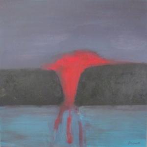 """No Coal"" by Jean Smith (24 x 24"" acrylic on canvas)"
